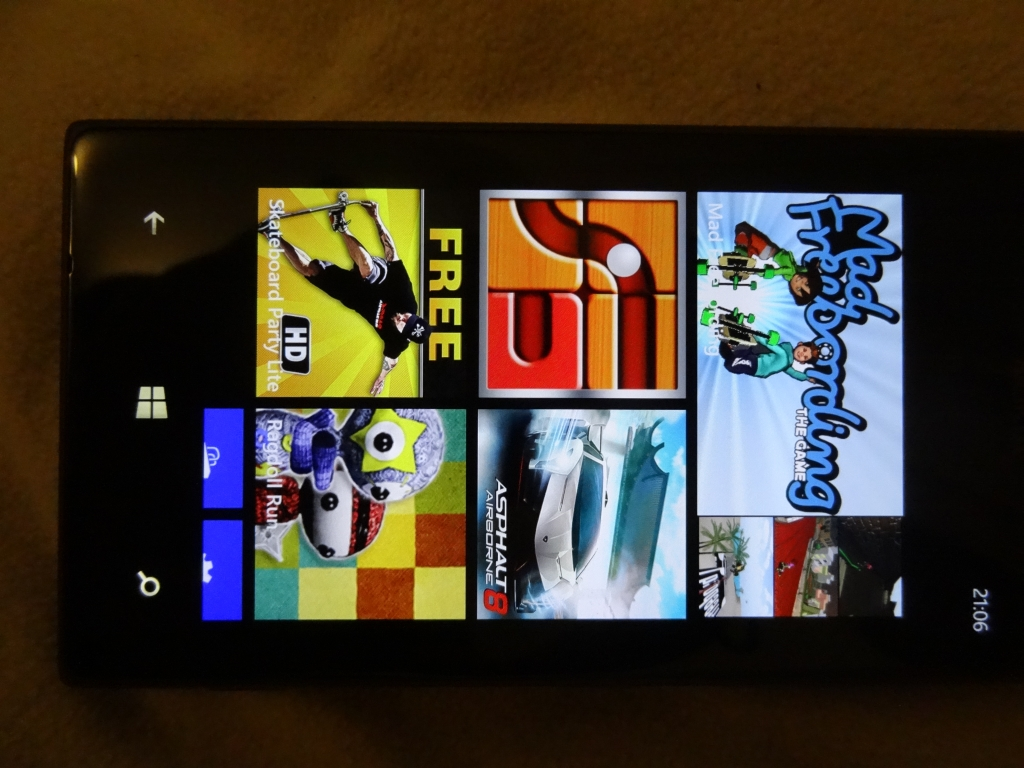 Mad Freebording on Windows Phone