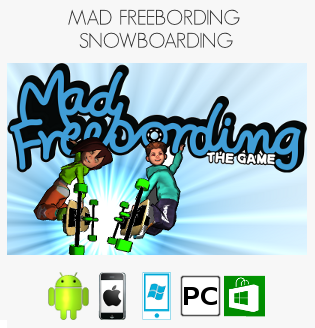 Mad Freebording on Windows Store